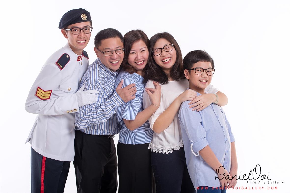 Candid Family Portrait